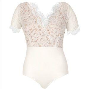 Plus Premium Lace Bodysuit